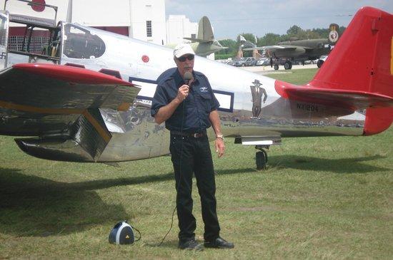 Fantasy of Flight: Kermit and P-51 Mustang
