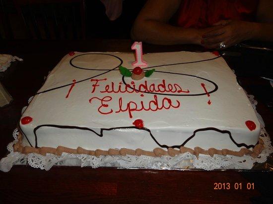 Tony Roma's: Birthday Cake