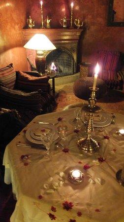 Riad Samsara: Evening meal