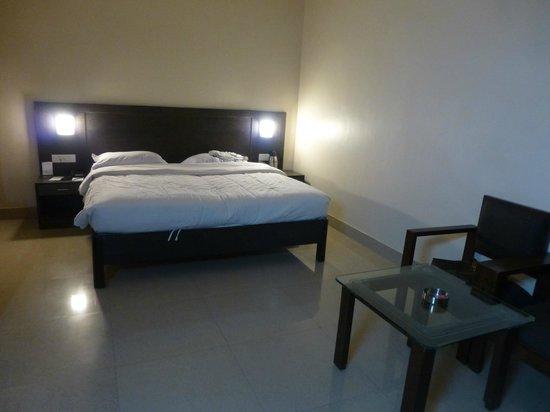 Hotel City Inn: notre chambre au 3ème étage