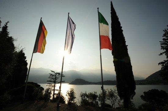 Villa La Collina: Internationale Begegnungsstätte mit Blick auf Bellagio