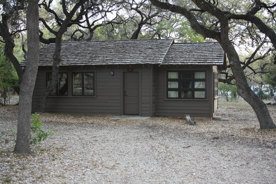 Texas: Our humble abode, built by the CCC, very spacious inside.