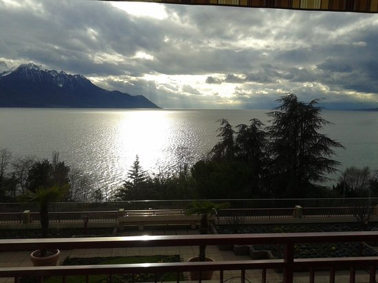 Hotel & Spa Bristol: Aussicht auf den Genfer See