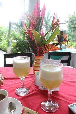 Hotel Sol Samara: Outdoor breakfast area