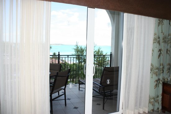 Beaches Turks & Caicos Resort Villages & Spa: View from Micheangelo Suite - Italian Village