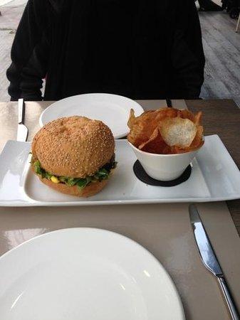 il famoso hamburger berton - Foto di Café Trussardi, Milano ...