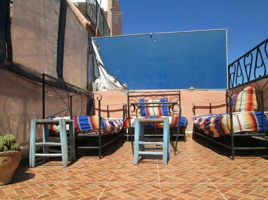 Amour de Riad : The terrace