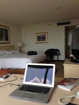 Hilton Palm Beach Airport : great 10th floor room. fresh and clean.