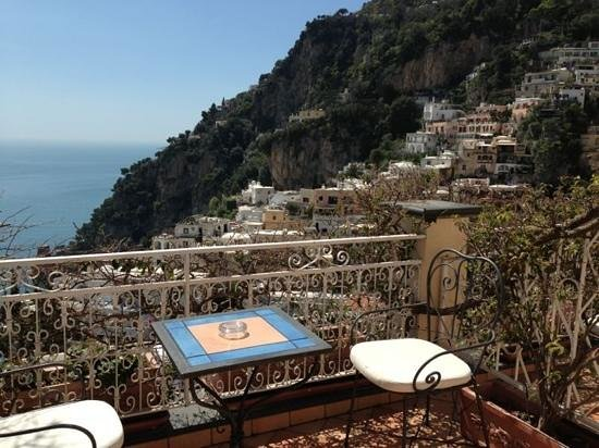 Positano Art Hotel Pasitea: big balcony with seaview