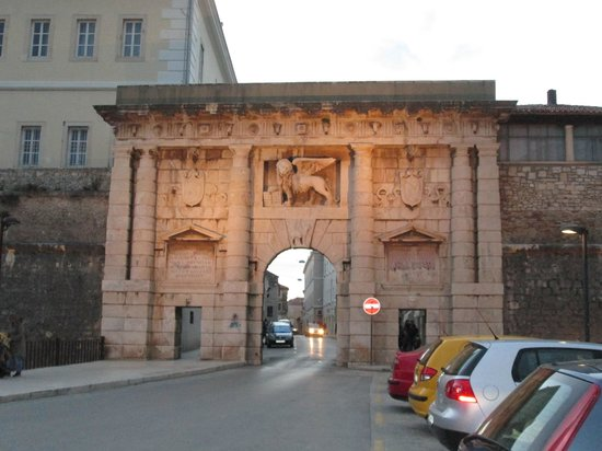Zadar City Gate: City Gate from the Outer Wall