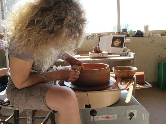 La Ferme de Soulies: Pottery studio