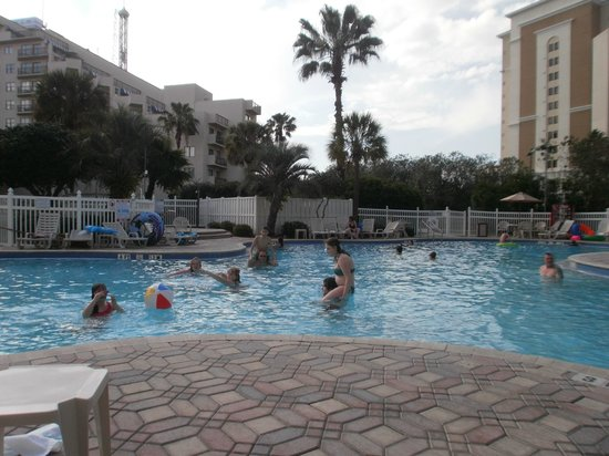 The Enclave Hotel & Suites: middle pool