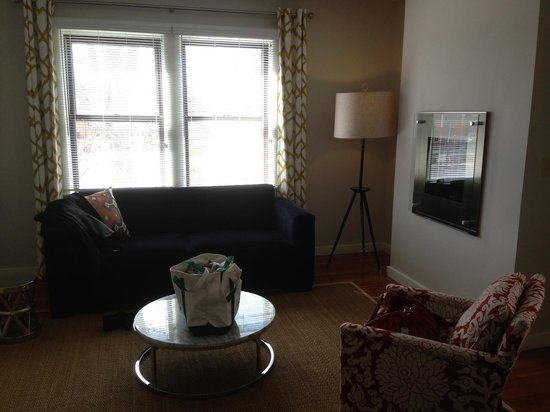 The Attwater: Suite Living Space