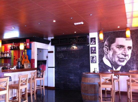 La Bohemia : Interior del restaurante