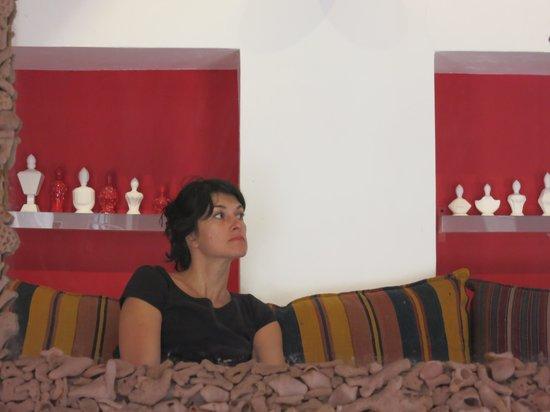 XVA Art Hotel: Lounge