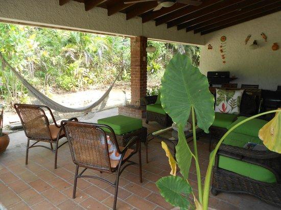 Casa Anita: hintere Veranda