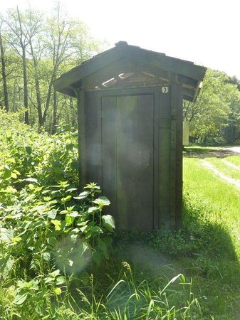 Sinkyone Wilderness State Park : Outhouse at Usal Beach