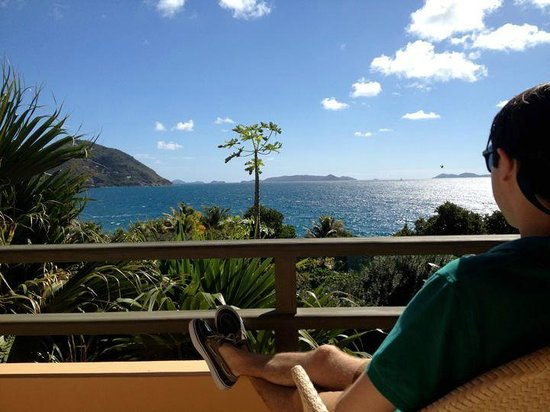 Frenchmans: View from the balcony