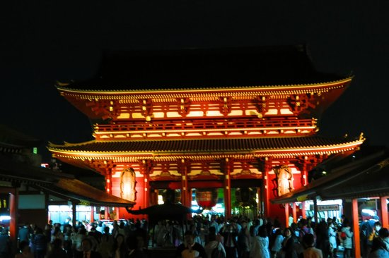 Stayto: Senso-Ji temple - a must see sight near by the hotel, 1 metro stop away