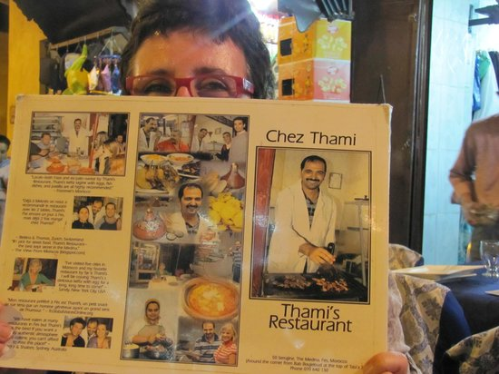 Thami's: il menu del vero Thami's !!!