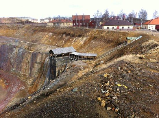 Falu Gruva: The quarry - Entrance to the mine