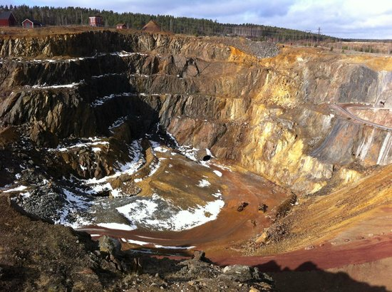 Falu Gruva: The quarry