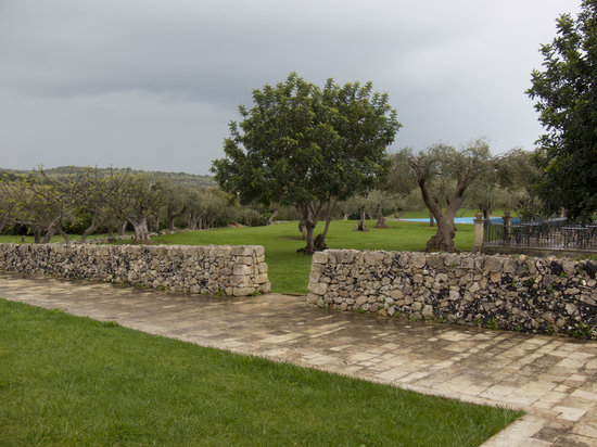 Masseria degli Ulivi: Garten