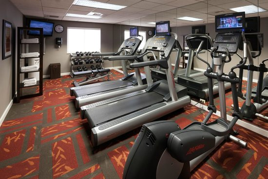 Residence Inn San Diego Downtown: Fitness room