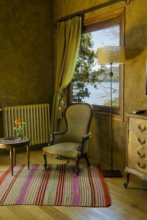 Luma Casa de Montana: Un lindo rincón de la suite Verde