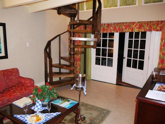 Sandals Negril Beach Resort & Spa : Notre suite du 1er