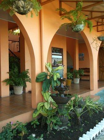 Hotel Papa's Papalotes: reception area