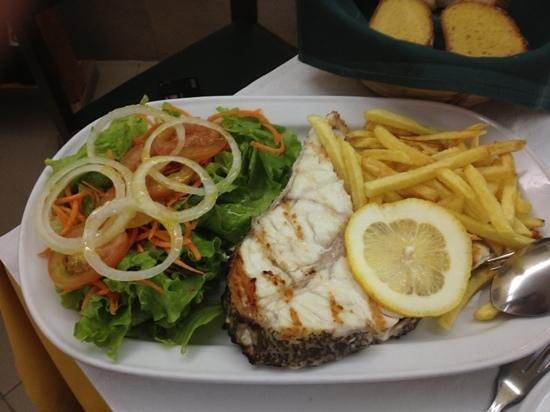 Restaurante Dom Lourenco: de vis is erg goed.
