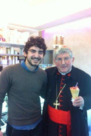 Arena del Gelato : io e il cardinale Collins