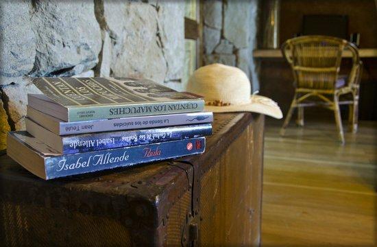 Luma Casa de Montana: Detalles Biblioteca