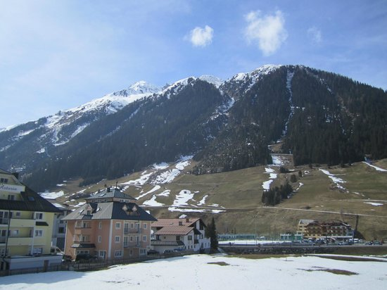 Sporthotel Silvretta: View from our balcony