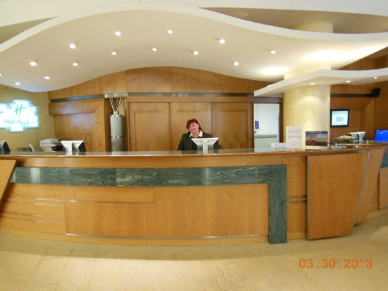 Holiday Inn Brno: Reception Area