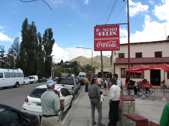 Rancho de Felix : vista exterior del restaurant
