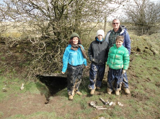 Carrowreagh, Ireland: emerging muddy