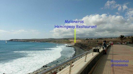 Hemingway II: Meloneras along Masapalomas promenade