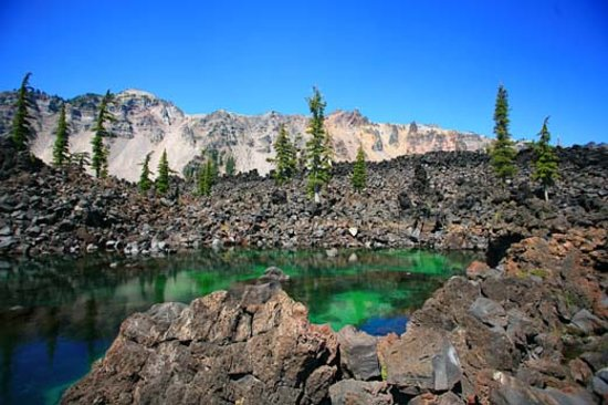 Wizard Island Caldera at Crater Lake National Park
