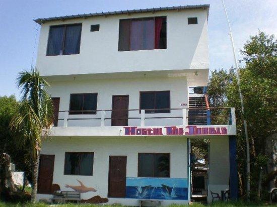 Hostal La Jungla: Hotel vista al mar