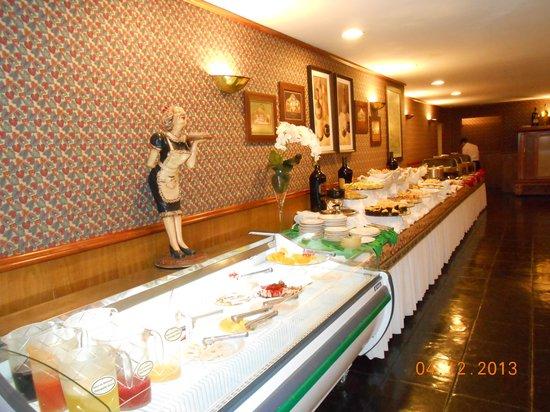 Hotel Bella Italia: Buffet en noche italiana