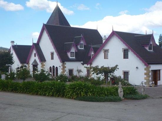 Hatcher's Manor: The main building.