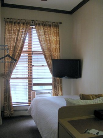 The Frederick Hotel: Room facing window