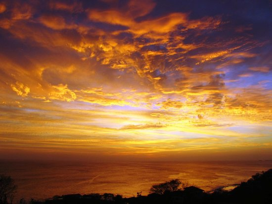 Rancho Santana: Our sunset view from Casa Cognoscenti!! Incredible!!