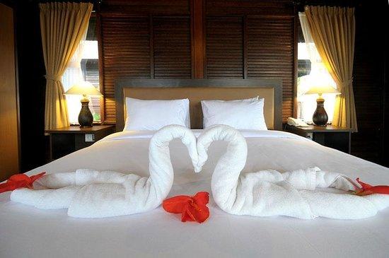 Aman Gati Hotel Balangan : Bungalow inside