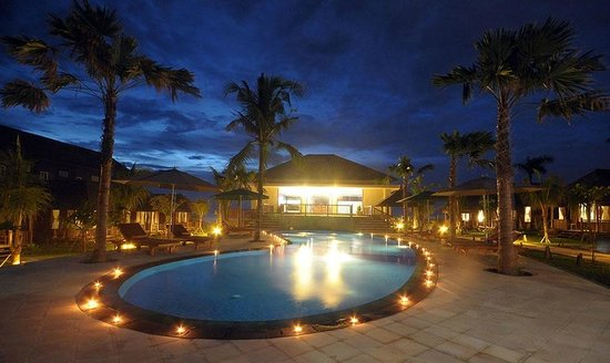 Aman Gati Hotel Balangan : Pool view