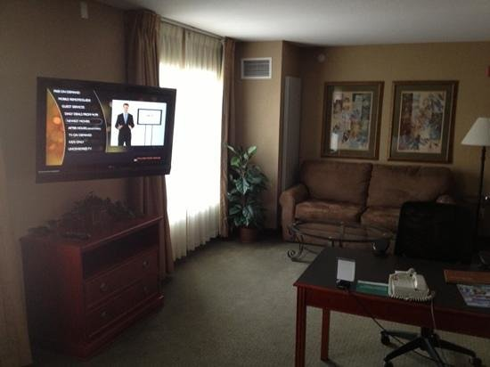 Homewood Suites by Hilton Sioux Falls: comfortable couch area