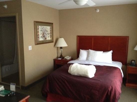 Homewood Suites by Hilton Sioux Falls: comfortable bed