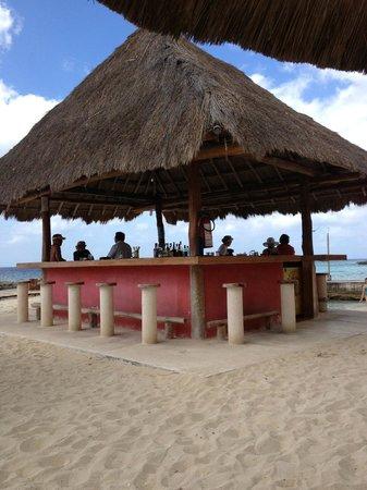 Playa Azul Golf, Scuba, Spa: Tiki Bar